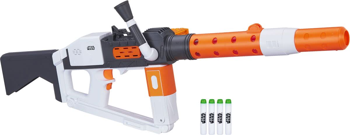 The Last Jedi First Order Stormtrooper Deluxe Blaster