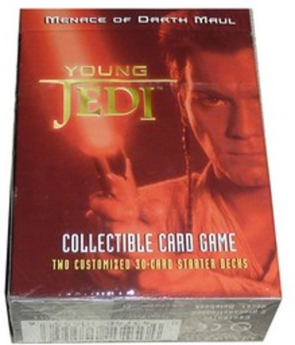 Star Wars Young Jedi Menace of Darth Maul Starter Deck
