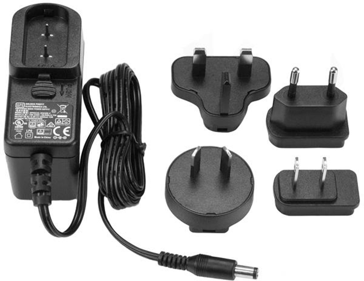 StarTech.com DC power adapter 5V, 3A voedingsadapter