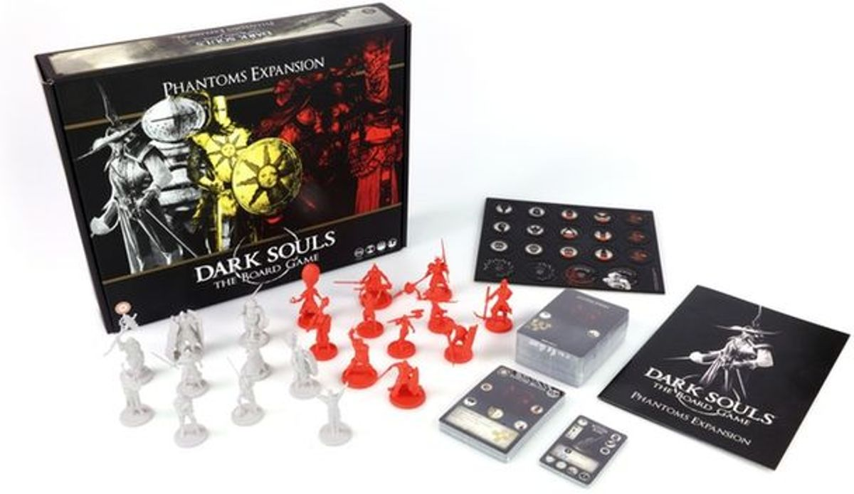 Dark Souls The Boardgame: Phantoms Expansion