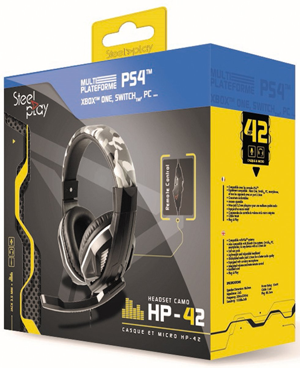 HP-41 Gaming Headset - PS4 / Switch / Xbox One / PC