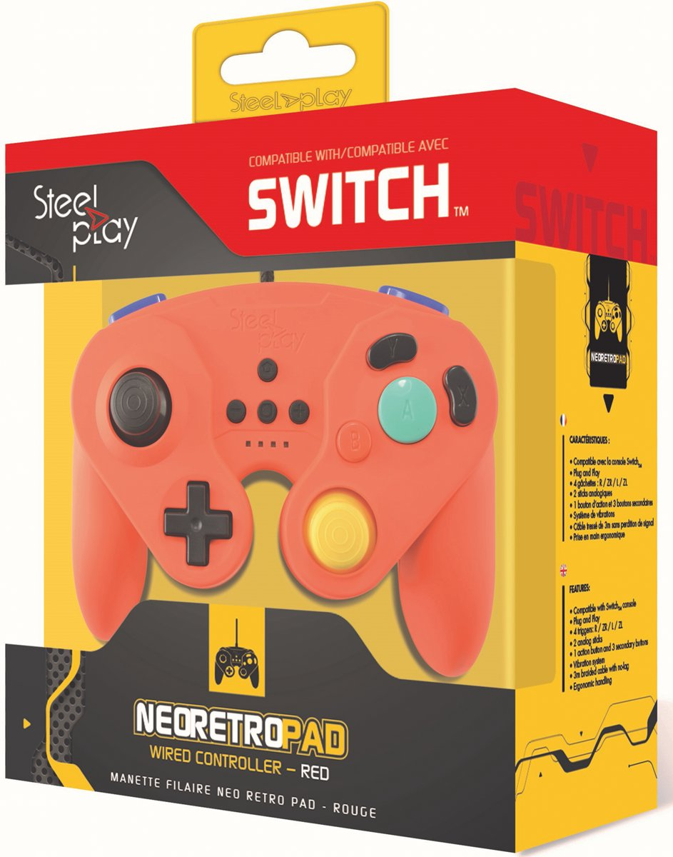 Wired Neo Retro   Red - Switch