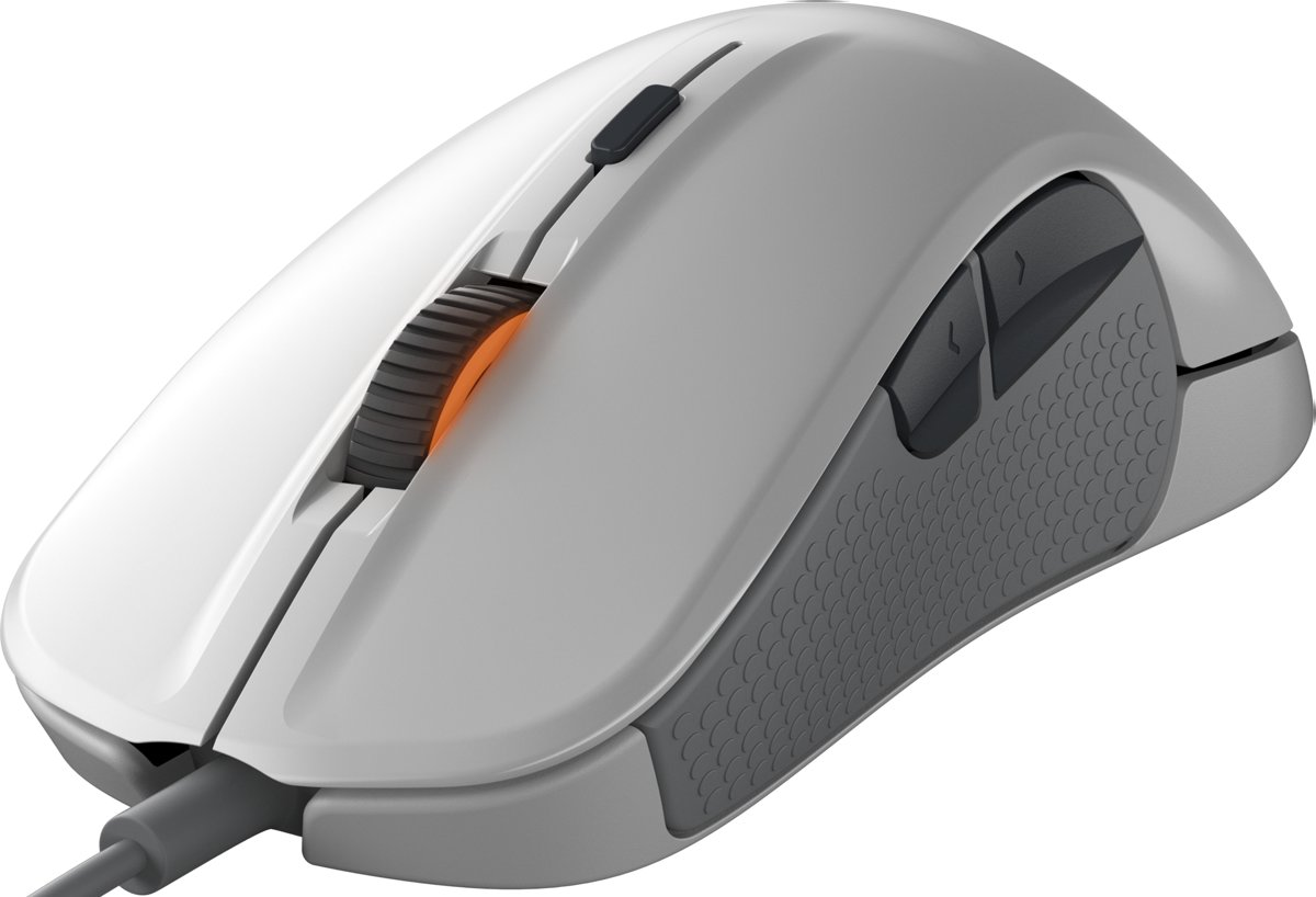 SteelSeries, Rival 300 Optical Gaming Mouse (White)
