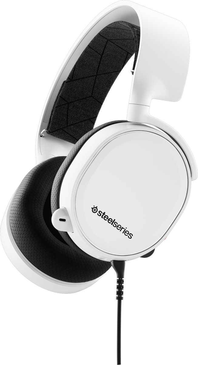 SteelSeries Arctis 3 - 7.1 Surround Sound Gaming Headset - Wit