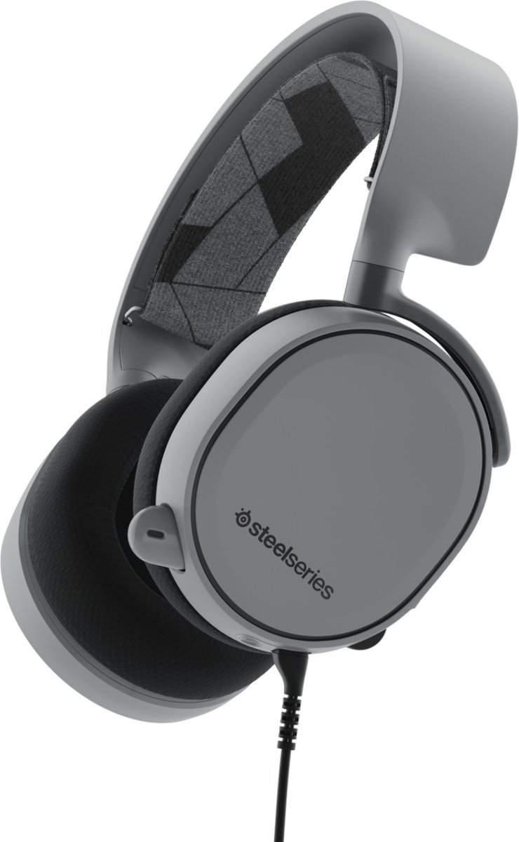 SteelSeries Arctis 3 - Surround Gaming Headset - Steel Grijs - Multi Platform
