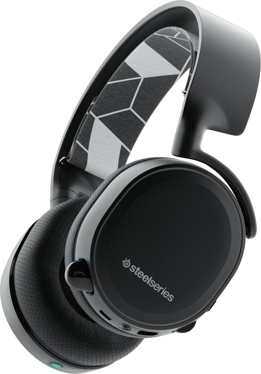 SteelSeries Arctis 3 Bluetooth - Draadloze Gaming Headset - Zwart - Multi Platform