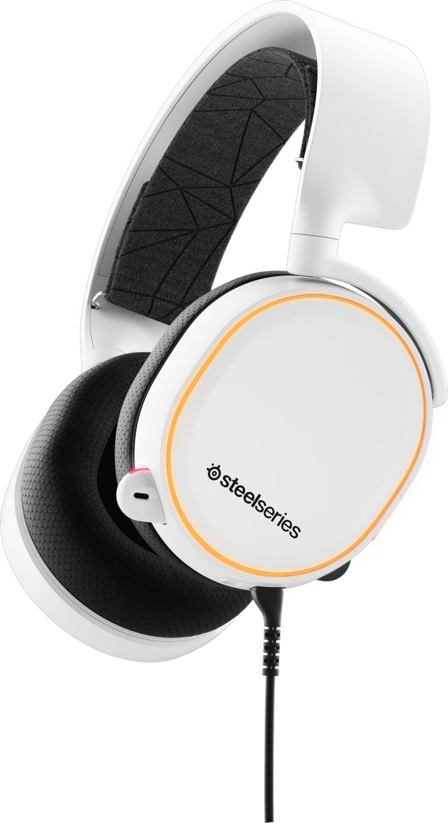 SteelSeries Arctis 5 RGB - 2019 Editie -  Gaming Headset - Wit - PS4 + PC