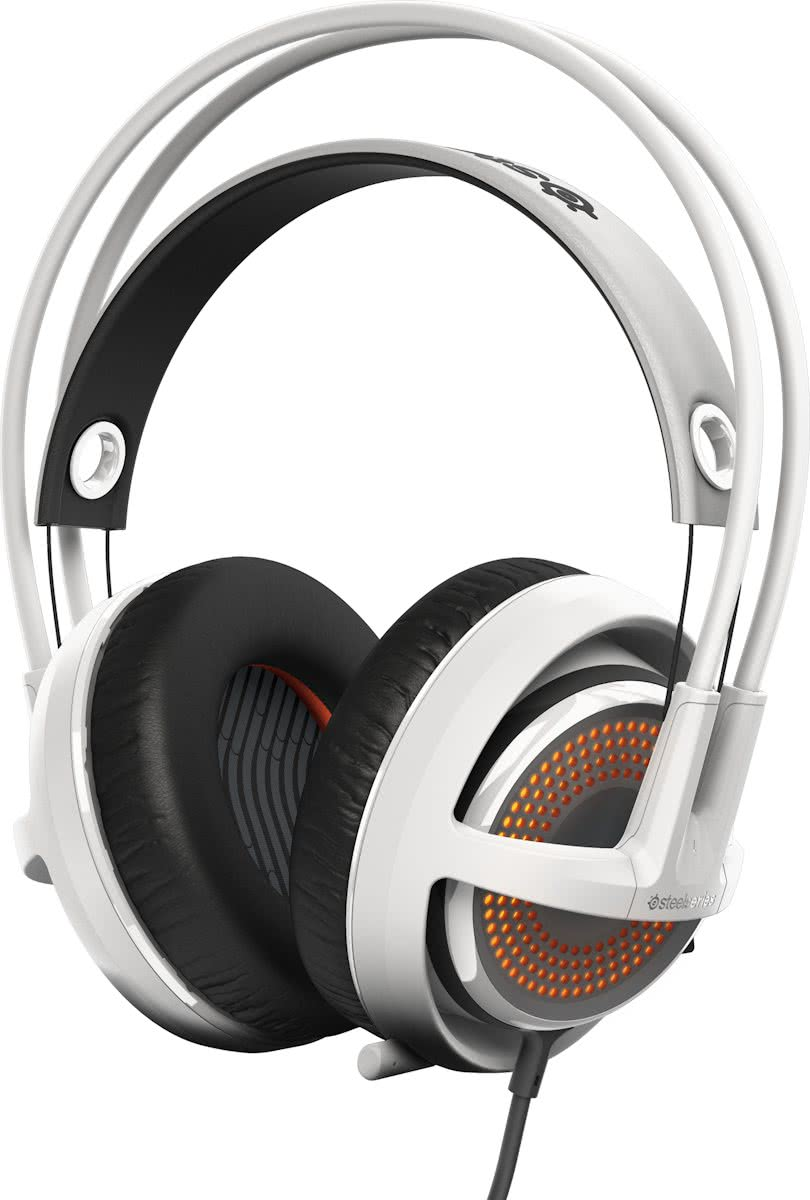 SteelSeries Siberia 350 - Gaming Headset - Wit - PS4 + PC + MAC