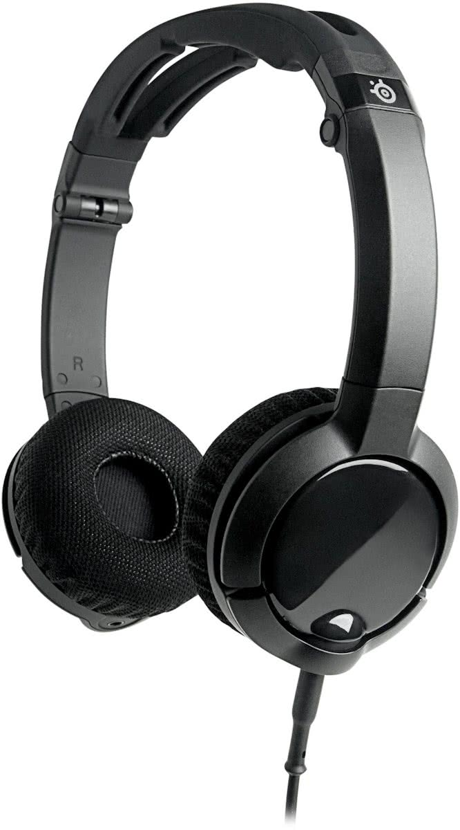 Steelseries Flux - Headset - Zwart - PC + Mac + Mobile
