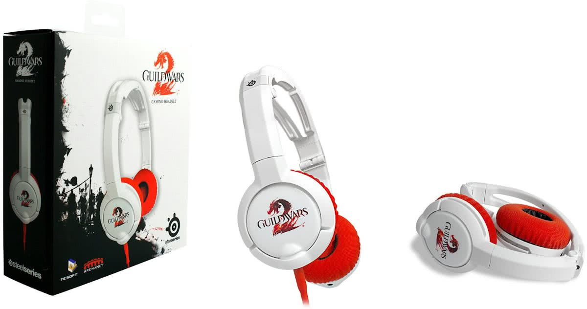 Steelseries Guild Wars 2 Gaming Headset Wit PC