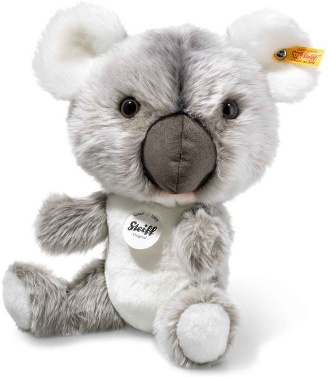 knuffel Jan Koala, grey/white