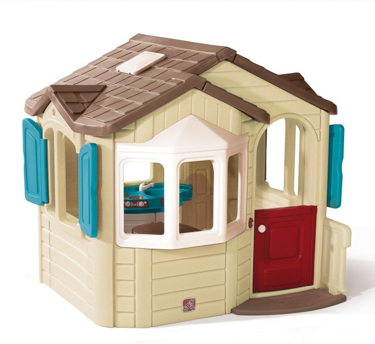 Naturally Playful Welcome Home Playhouse -   - 727000