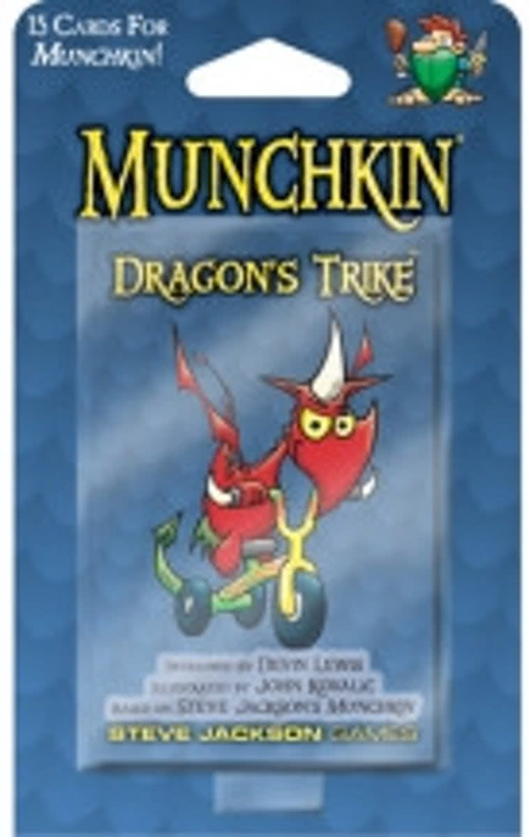 Munchkin Dragons Trike booster pack d10