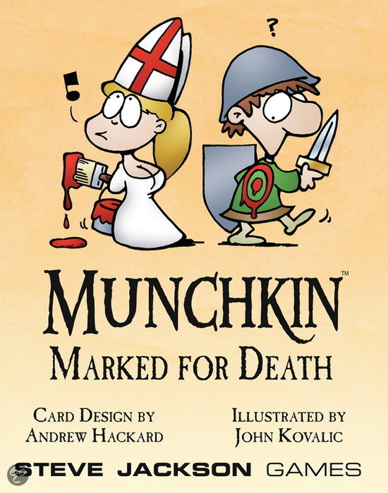 Munchkin Marked for Death Booster d10
