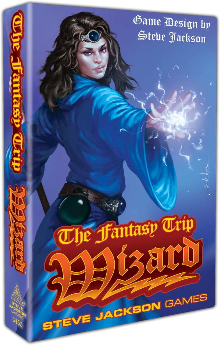 The Fantasy Trip Wizard Steve Jackson Games
