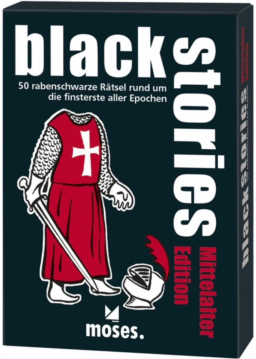 Black Stories - Mittelalter Edt