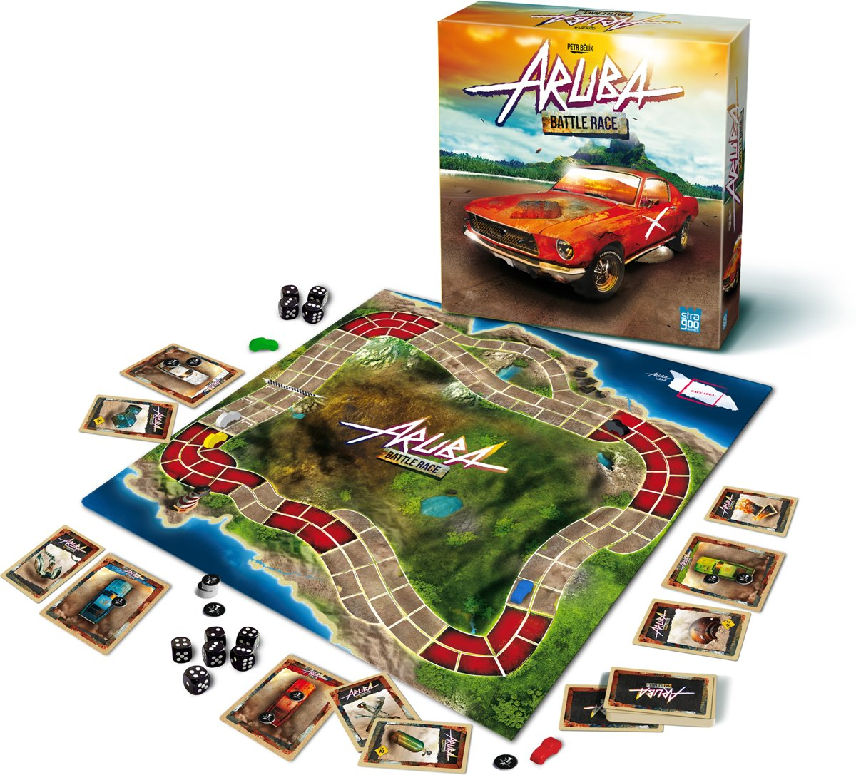 Aruba: Battle Race Board Game