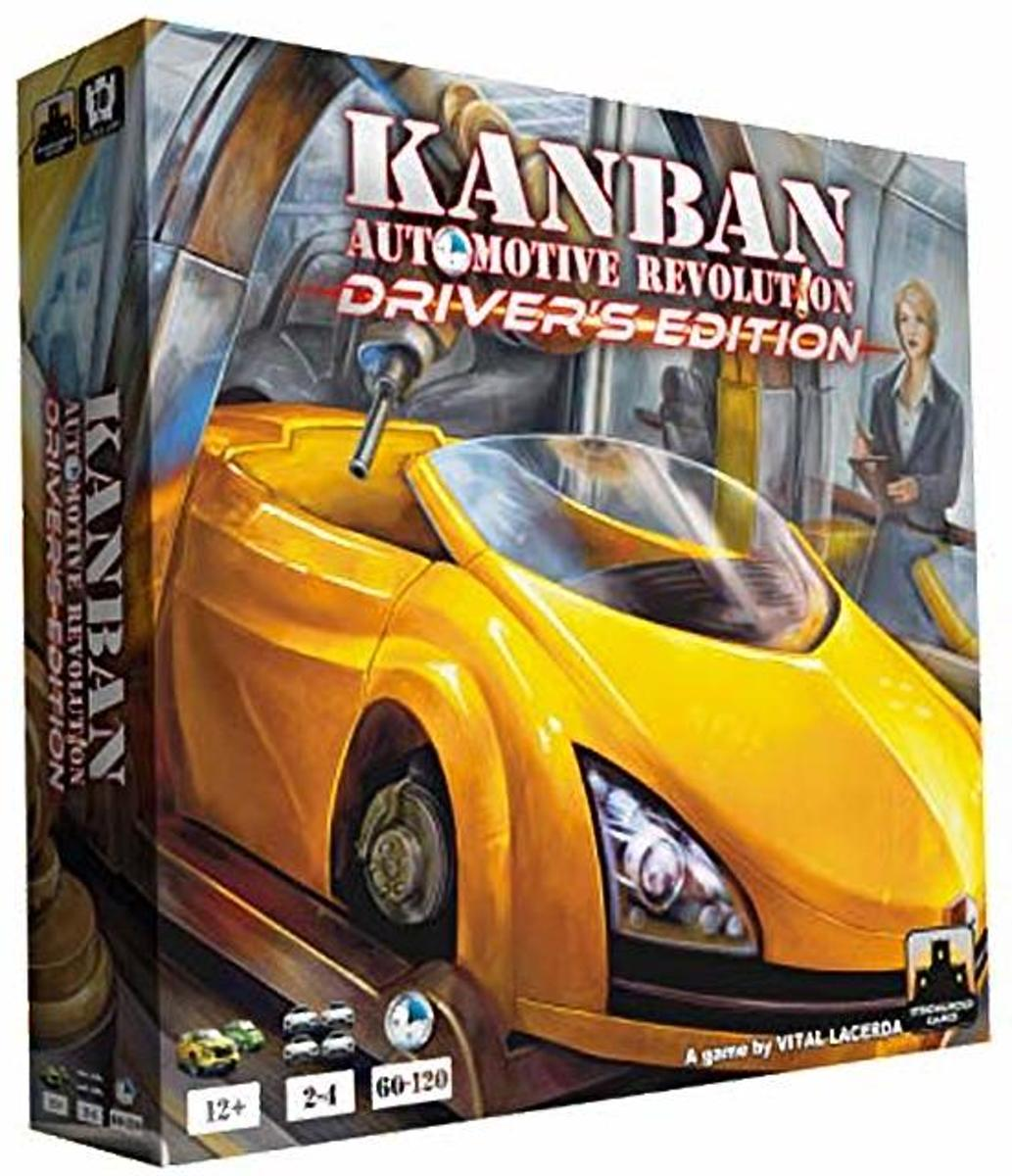 Kanban Automotive Revolution Drivers Edition