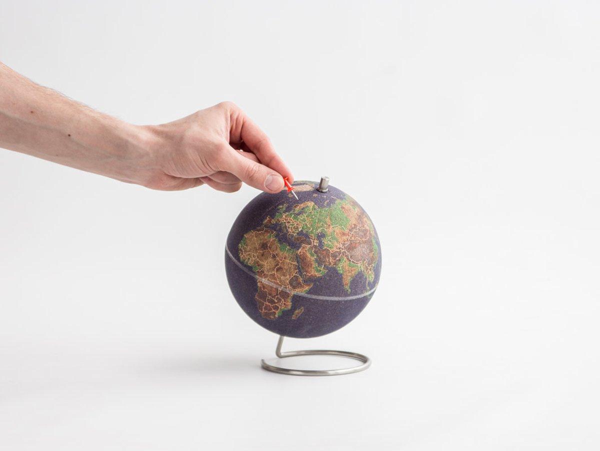 Wereldbol Met Licht : Globe bright hot green dia meter cm kunststof voet met