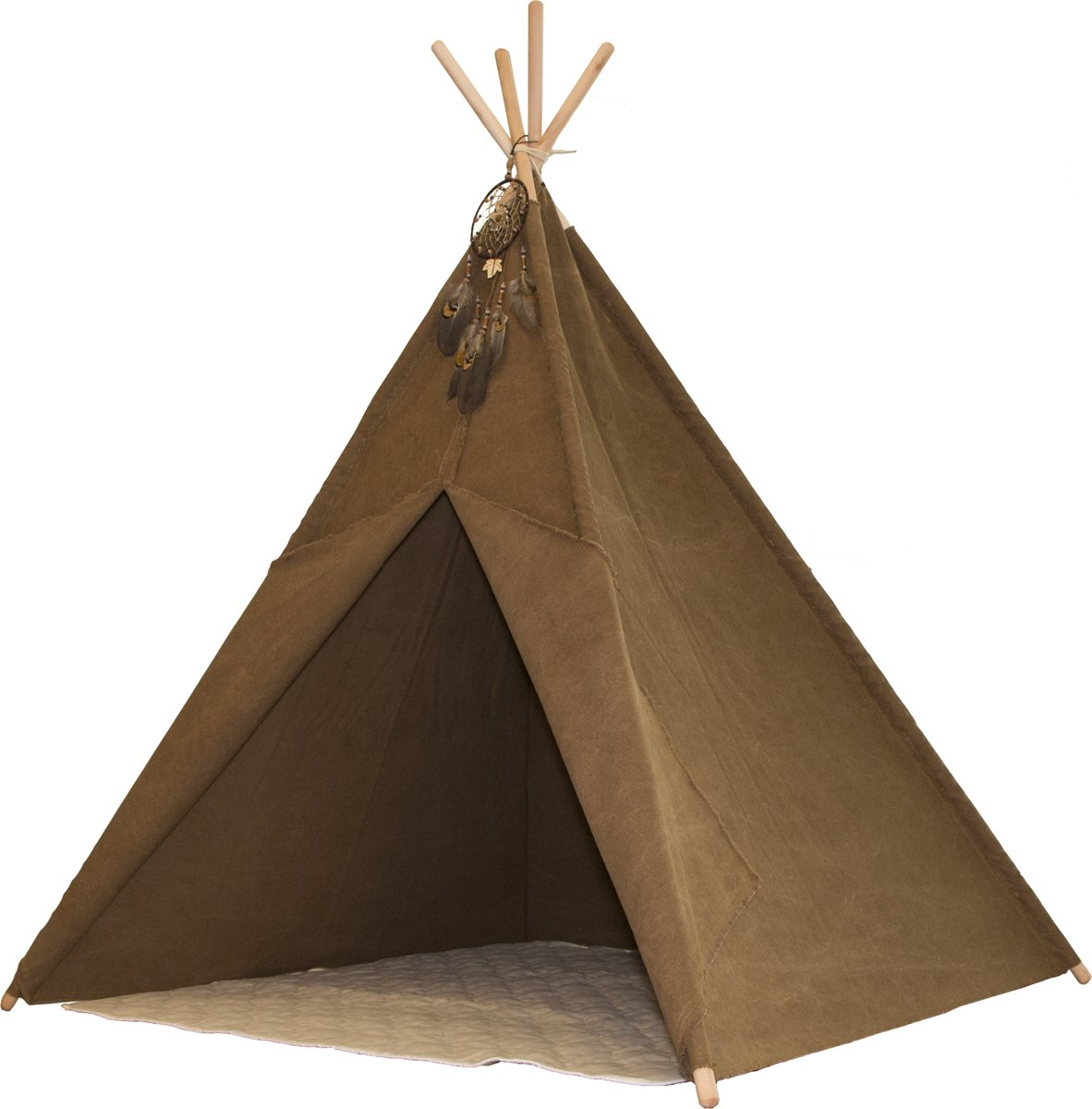 Indian Teepee Tent - Tipi tent - Indianentent - Bruin