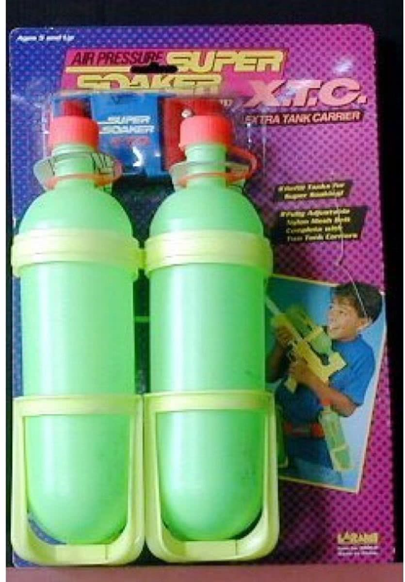 Super Soaker Reservetanks met riem
