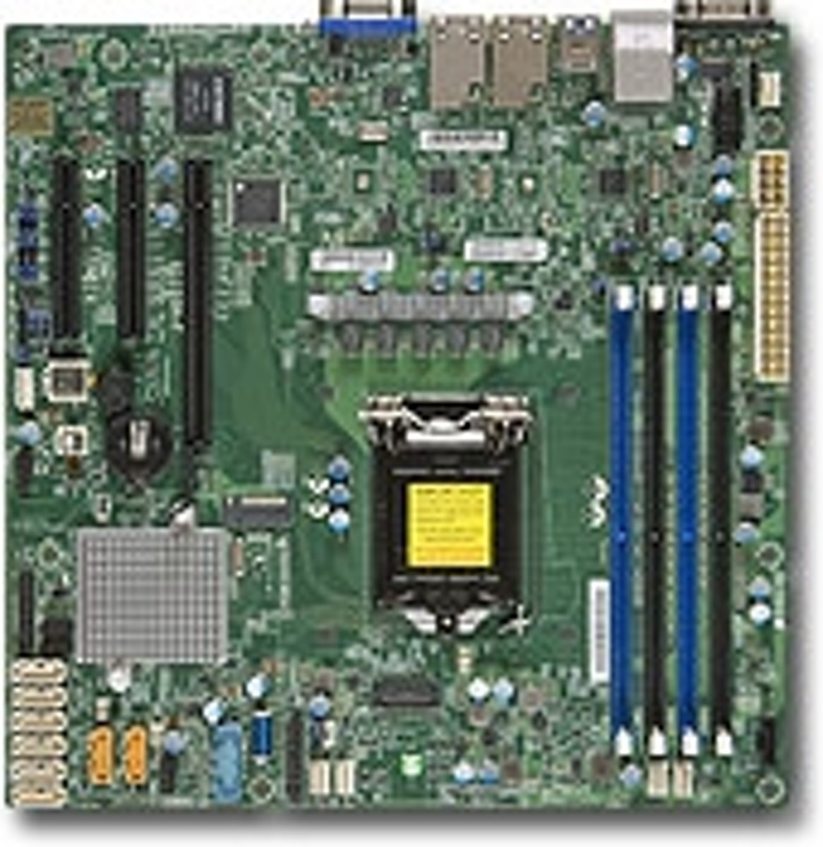 X11SSH-F Intel C236 LGA 1151 (Socket H4) microATX server-/werkstationmoederbord