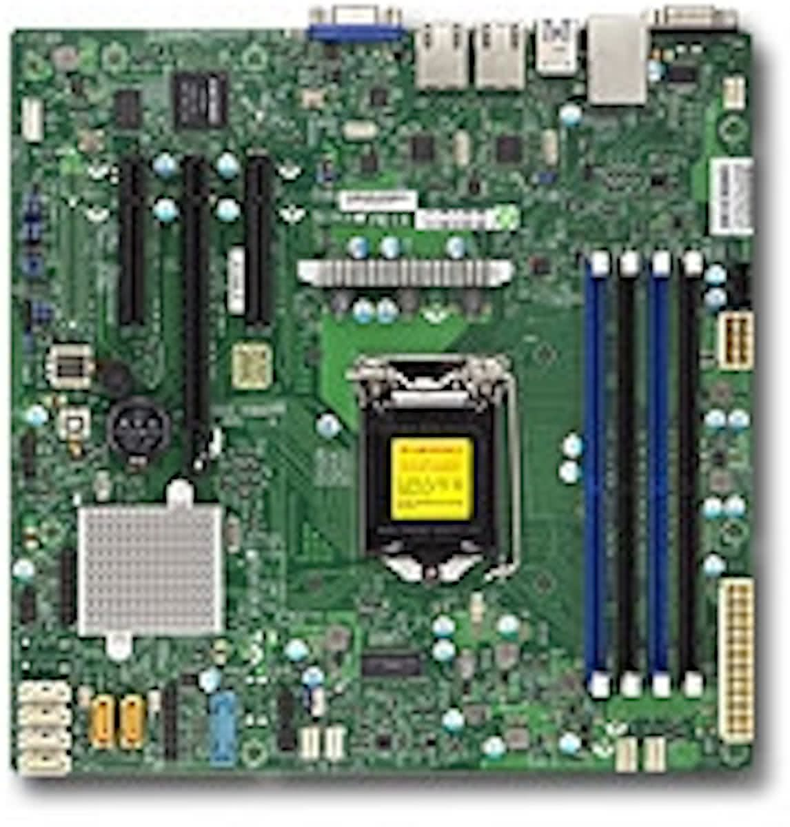 X11SSL-F Intel C232 LGA 1151 (Socket H4) microATX server-/werkstationmoederbord
