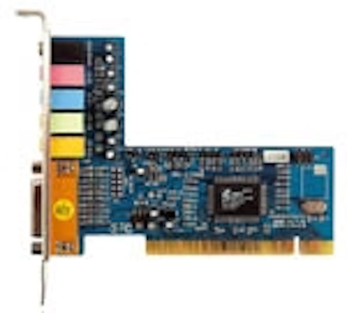 6-channel sound card PCI