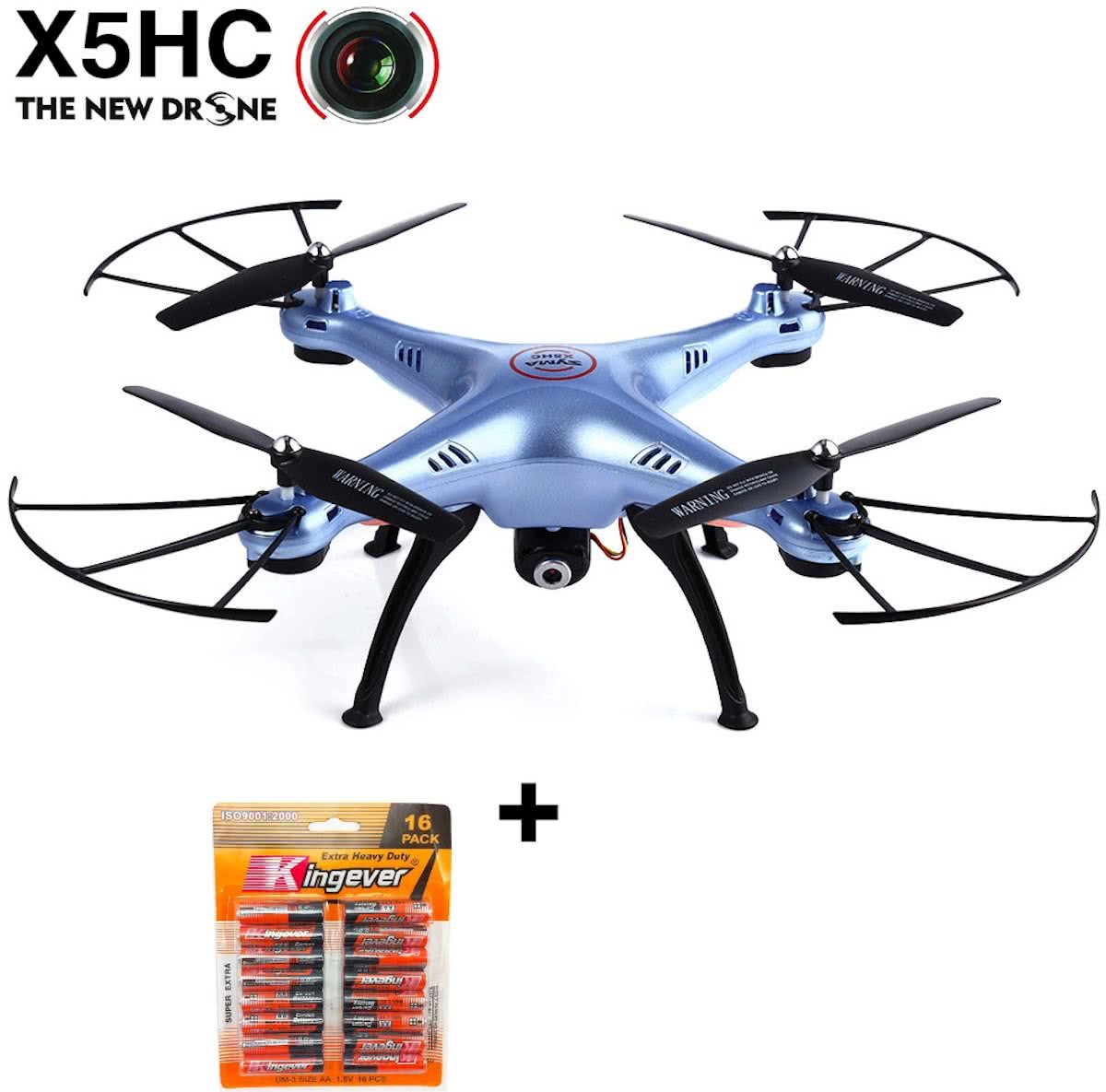SYMA X5HC DRONE HD CAMERA 2.4GHZ