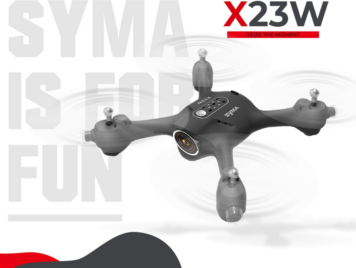 Syma X23W drone met extra batterij –  (Live camera First Person View, Hover functie,  360 flip over)