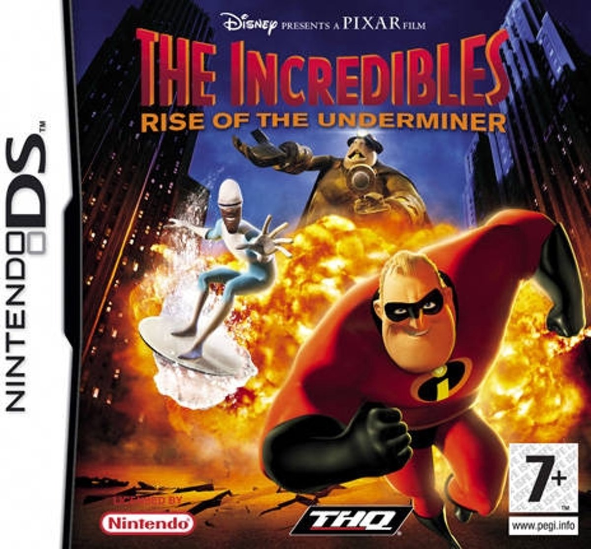 Incredibles Rise of the Underminer /NDS