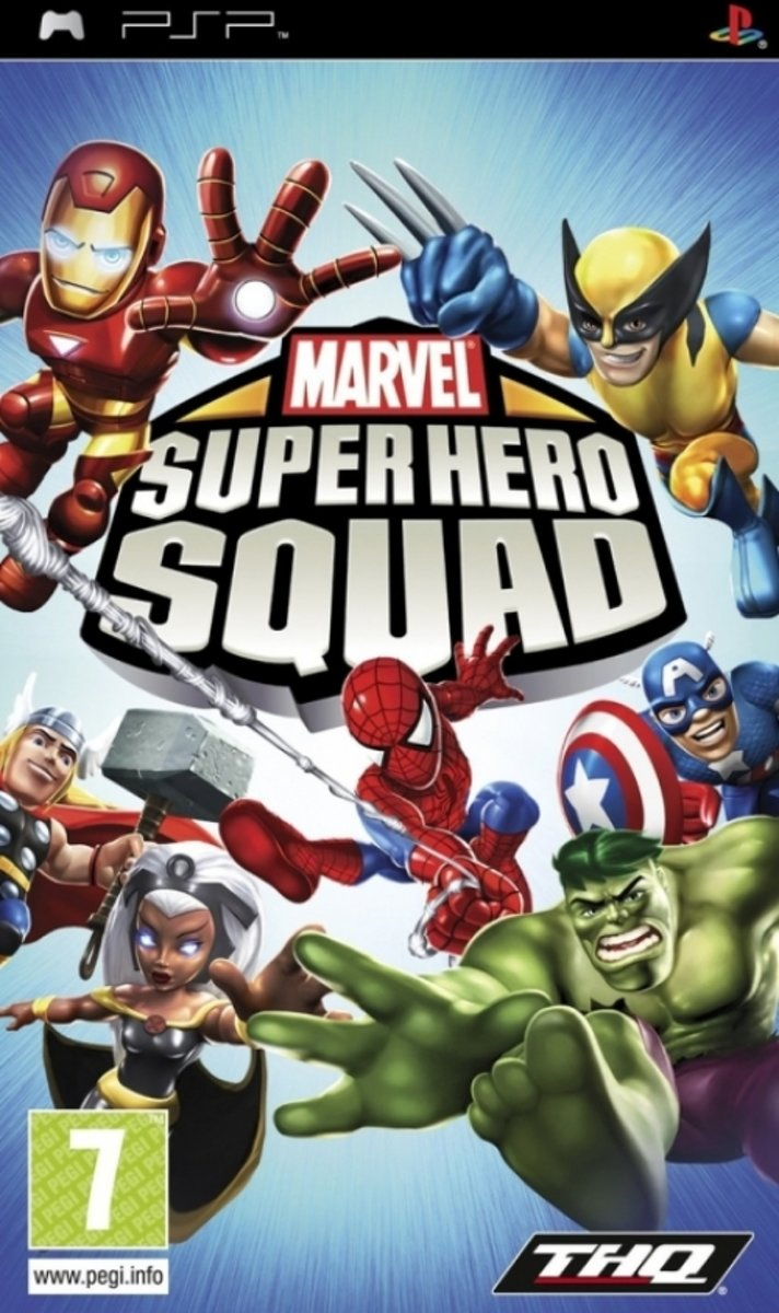 Marvel Super Hero Squad /PSP