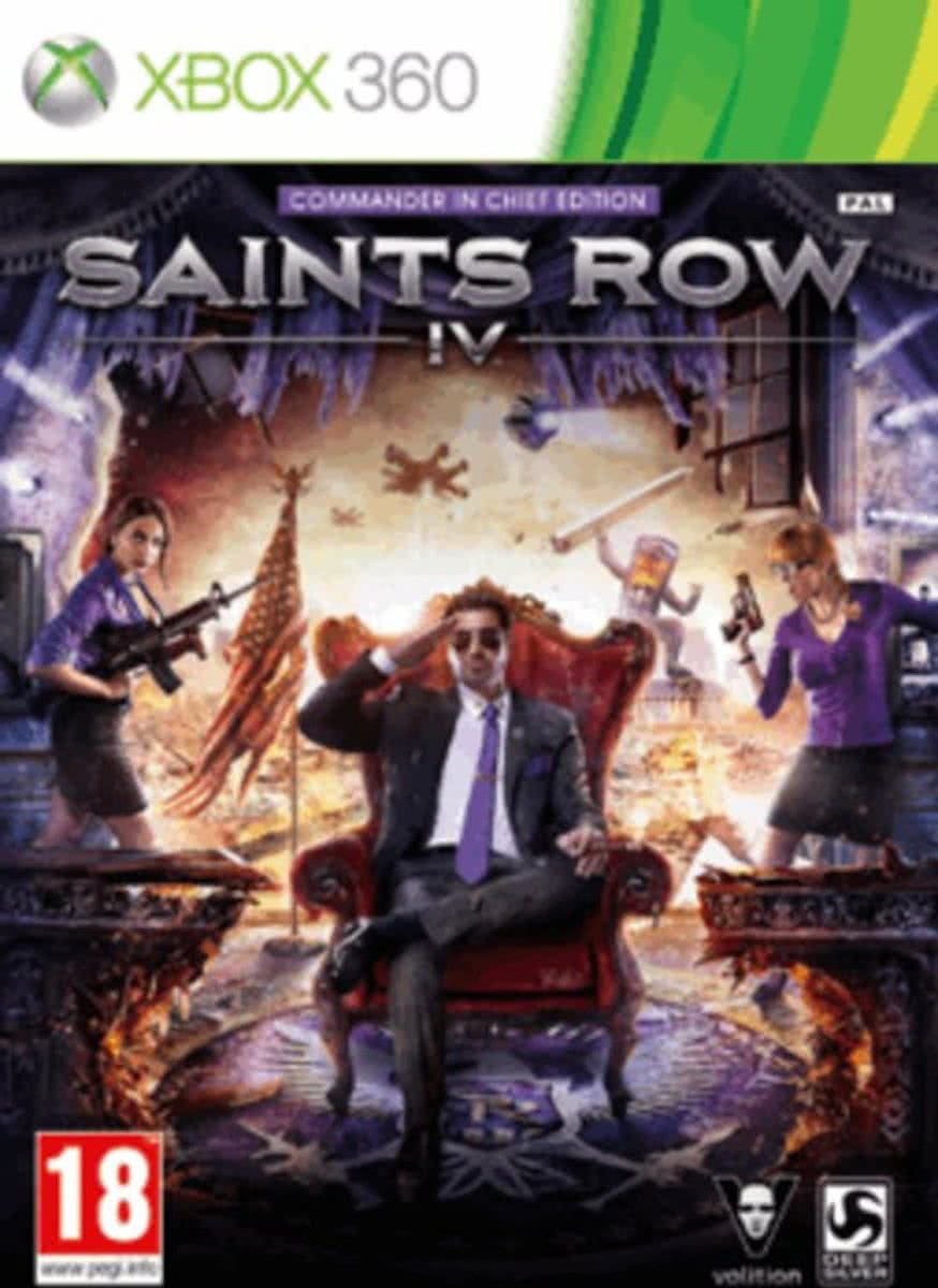 Saints Row IV (4) Commander in Chief Edition /X360