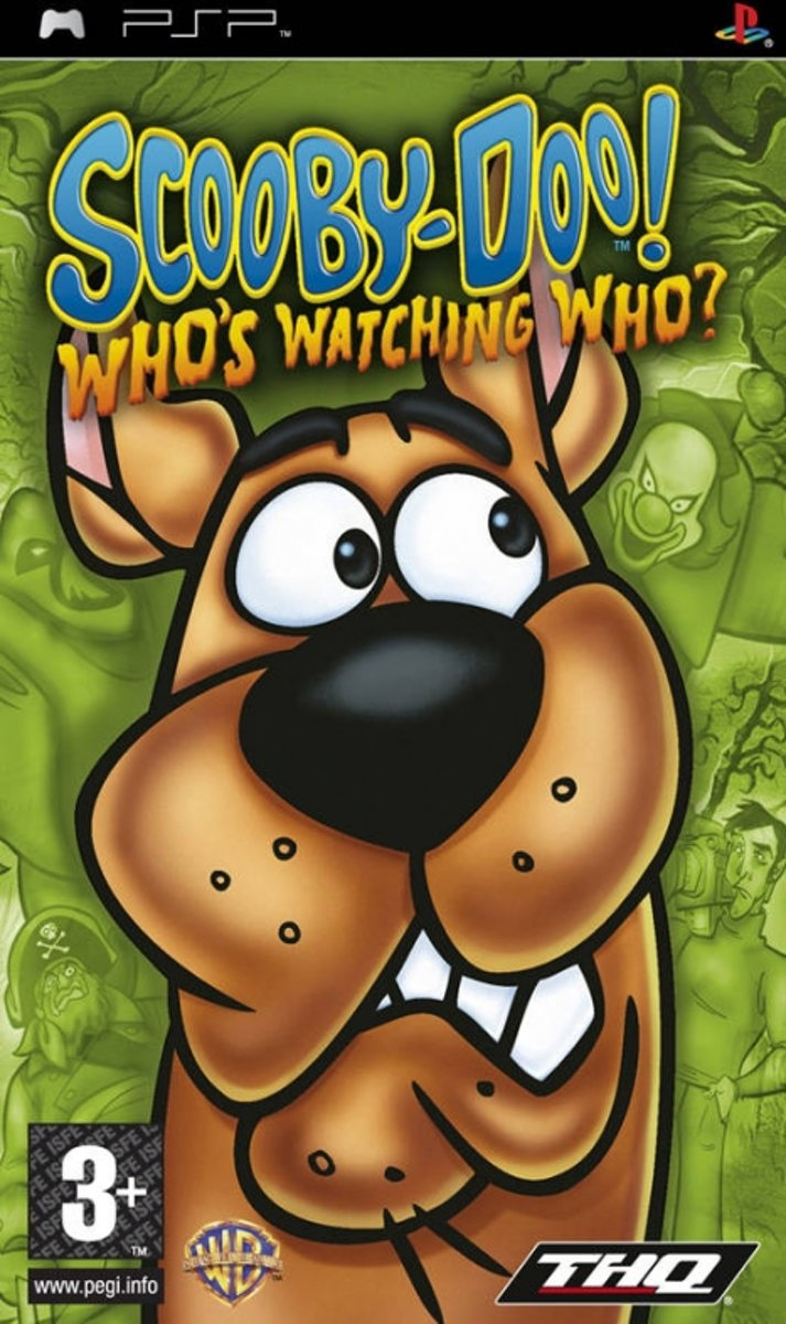 Scooby Doo: Whos Watching Who? (PSP)