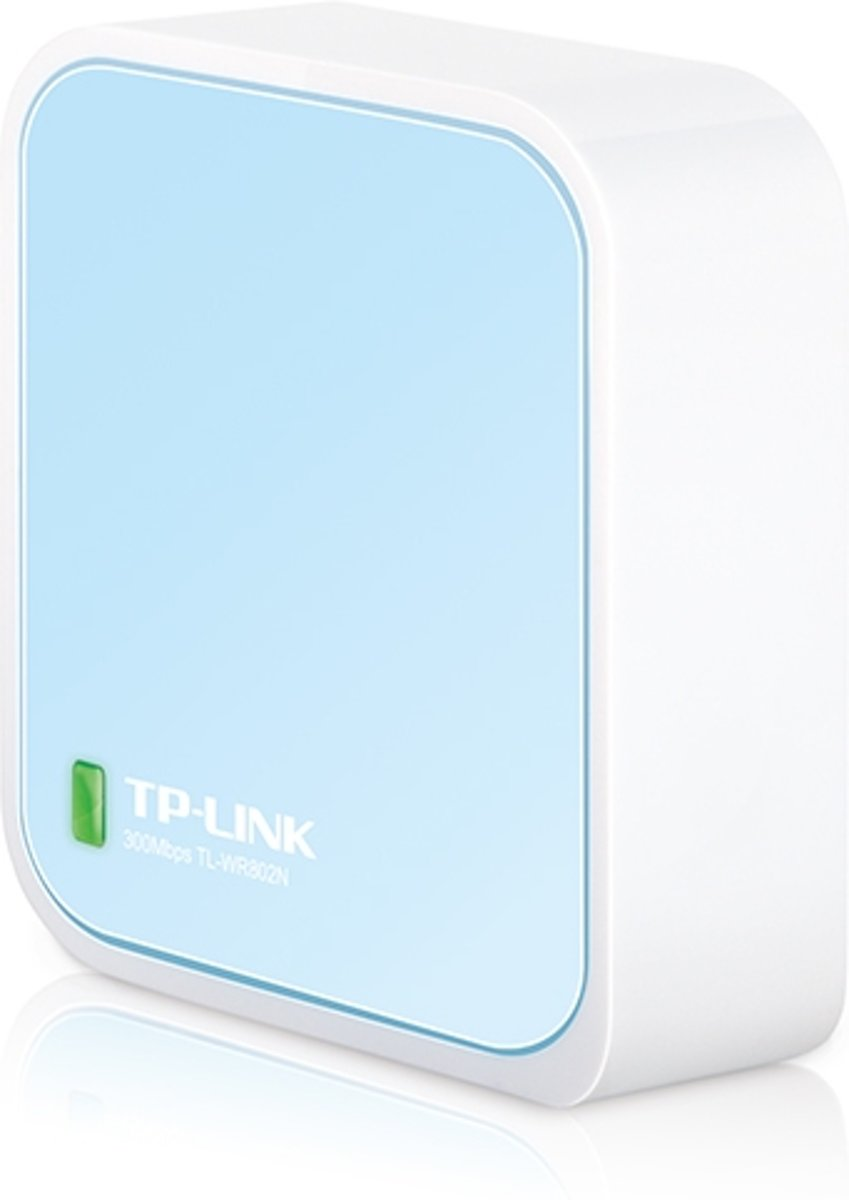 TP-LINK routers 300Mbps Wireless N Nano Router, 2.4-2.4835 GHz, 1x Fast Ethernet, USB, White/Blue