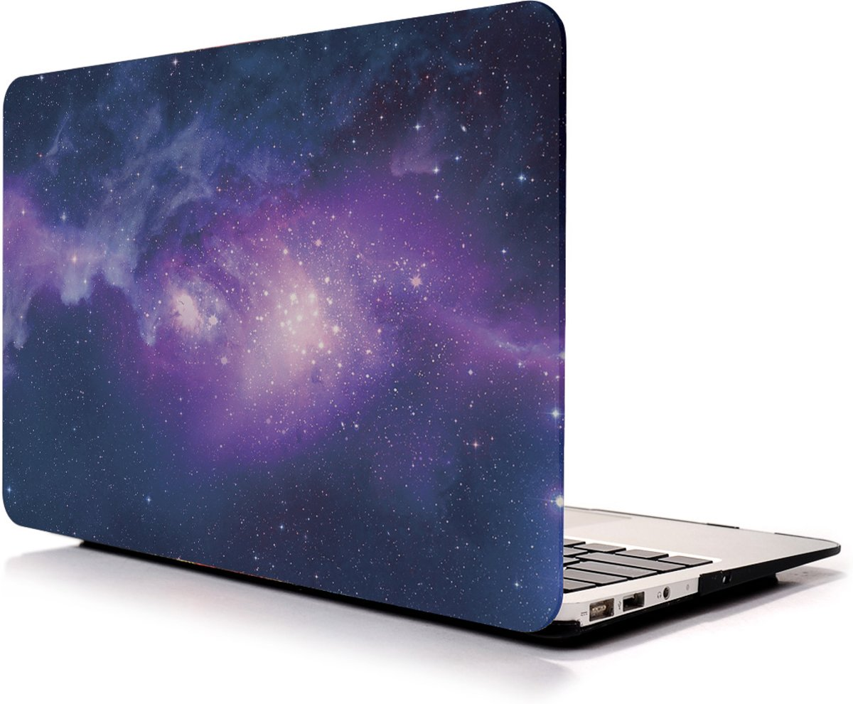 Tablet2you - Apple MacBook Air - hard case - hoes - Universal - Paars - 13.3