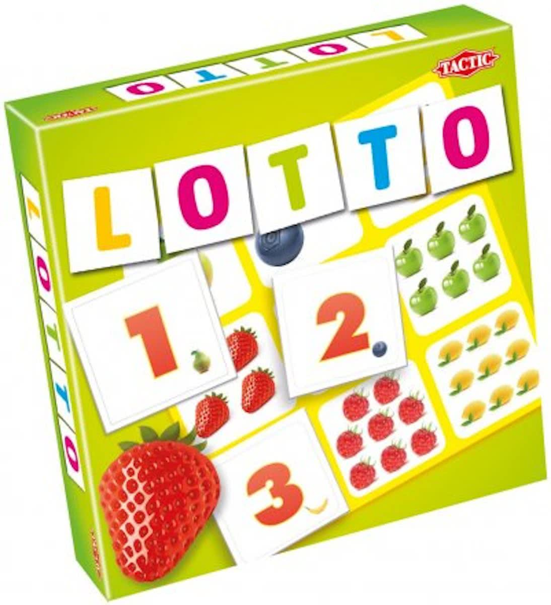 Fruits & Numbers Lotto - Kinderspel