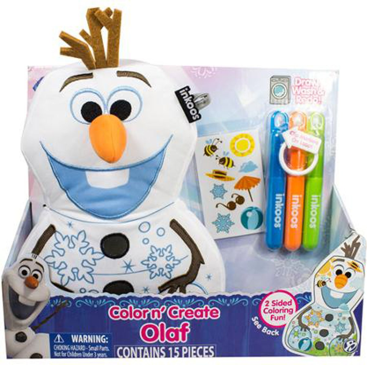 Inkoos Frozen Olaf Color & Glow