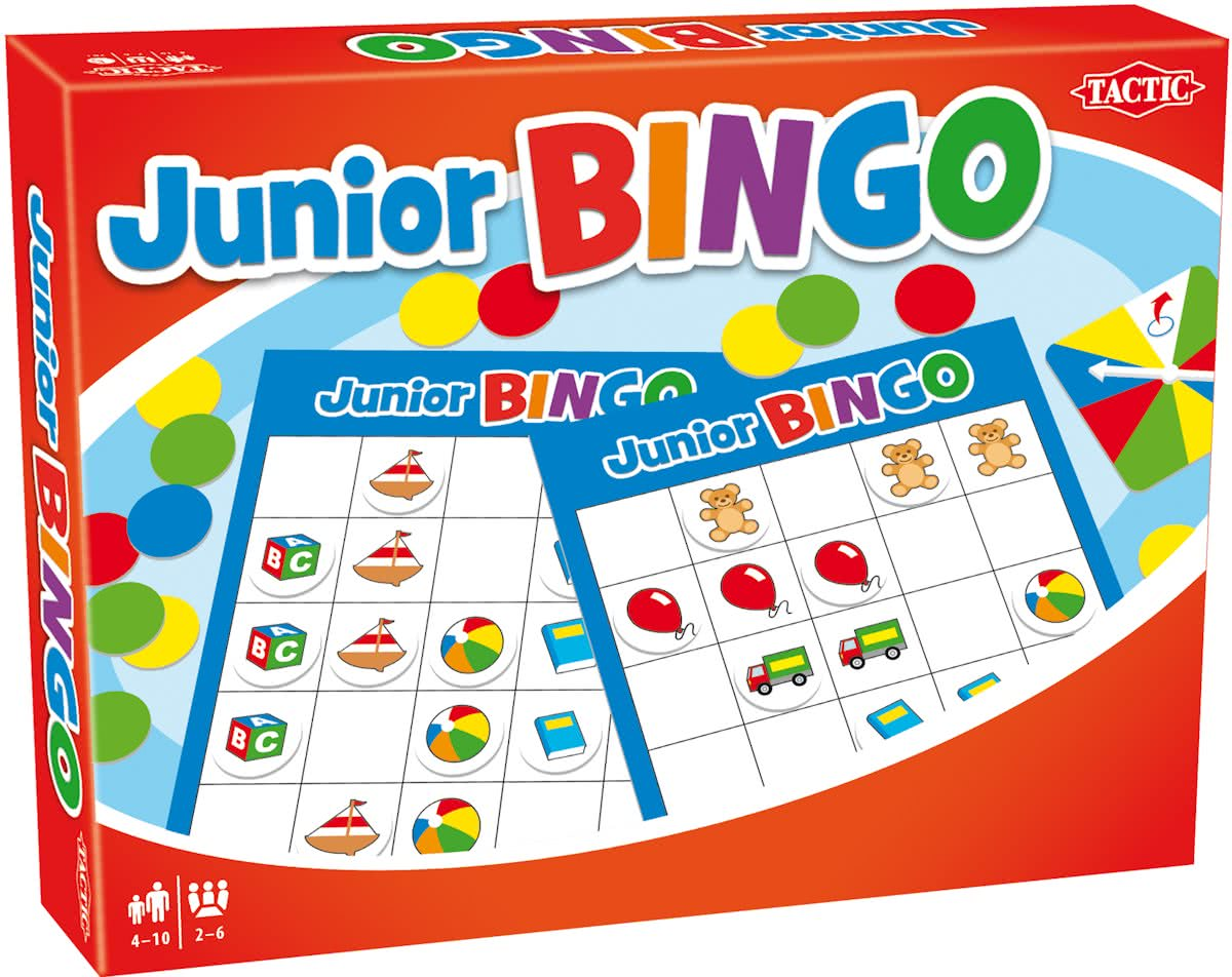 Junior bingo - Kinderspel