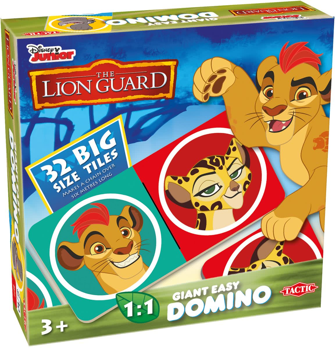 Lion Guard Giant Easy Domino