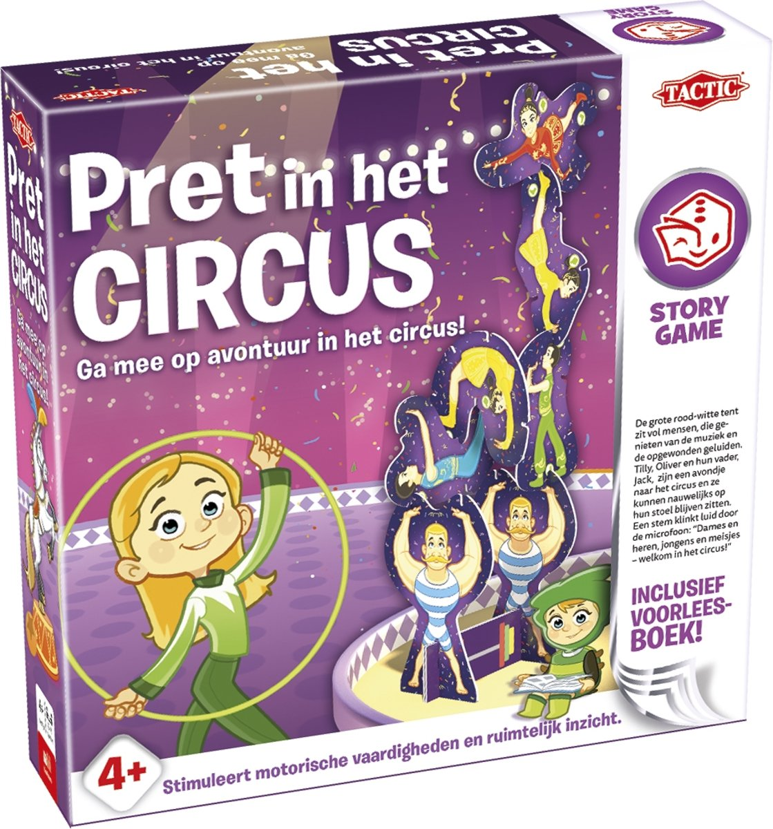 Story Game Pret in het Circus