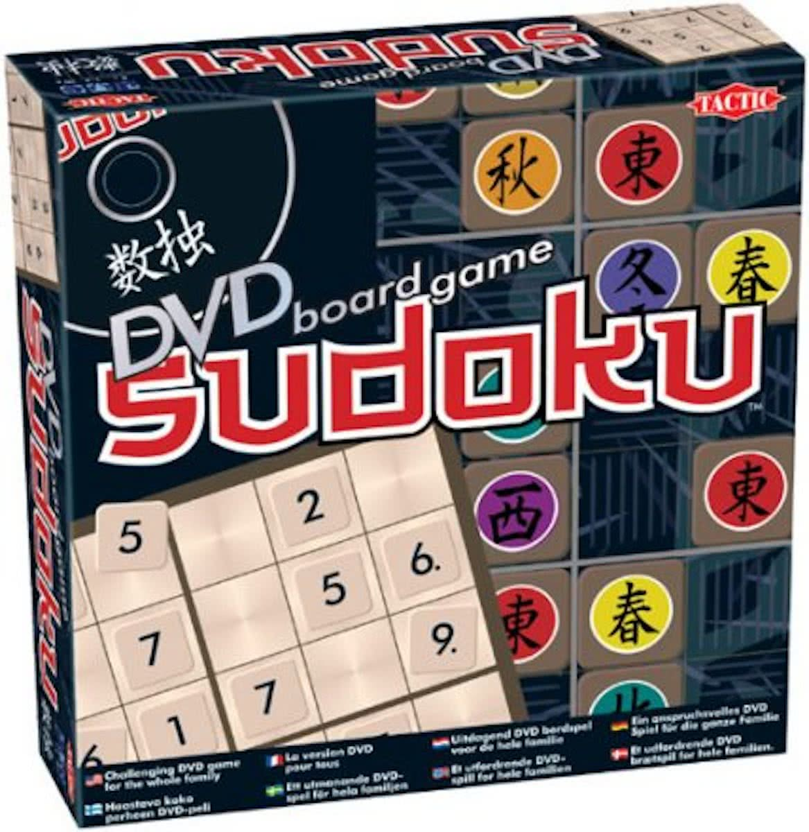 Sudoku Board Game DVD