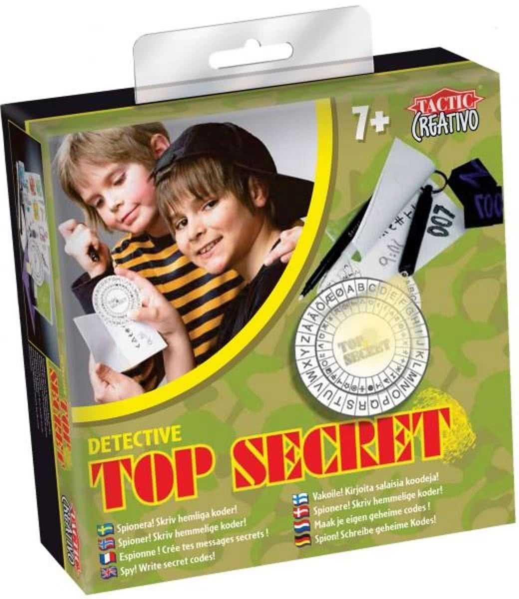 Top secret - Educatief spel