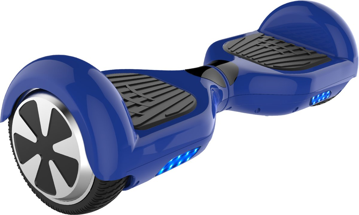 Energic Self Balancing Smart Hoverboard Balance Scooter 6.5 inch/ LED Verlichting /speciaal ontwerp - Blauw