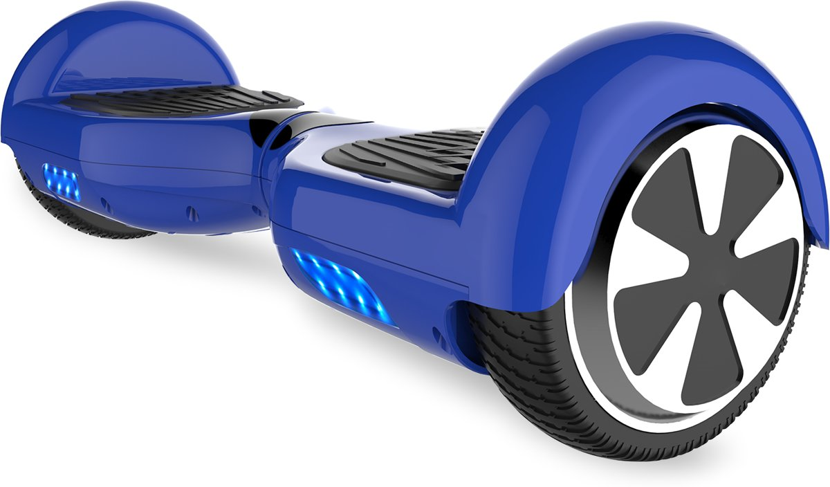 Tailwind Self Balancing Smart Hoverboard Balance Scooter 6.5 inch/ V.5 Bluetooth speakers/ LED Verlichting /speciaal ontwerp - Blauw