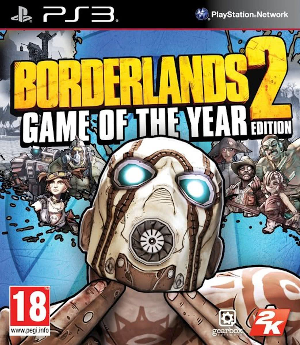 Borderlands 2 - Game of the Year Edition /PS3