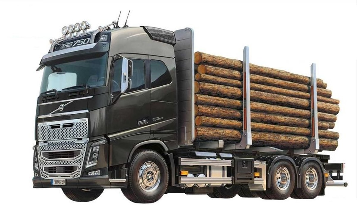 Volvo Fh16 Globetrotter 750 On-road truck 1:14