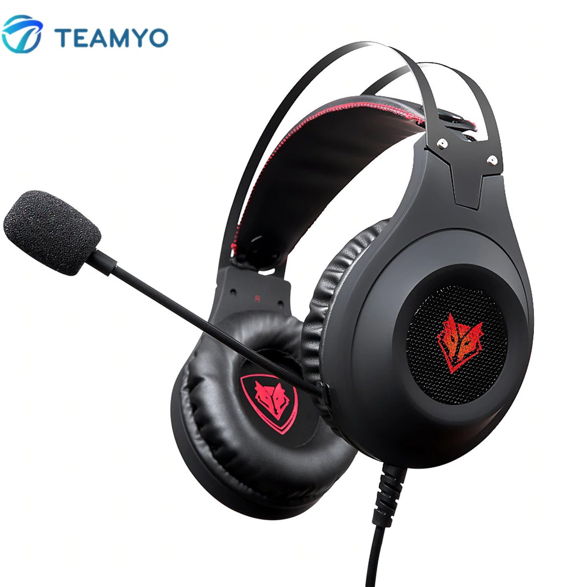 Gaming Headset- Headphone PC/ Playstation/ Xbox- Hoge kwaliteit en extra flexibel- LED verlichting
