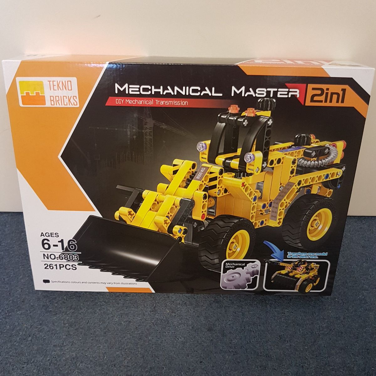Tekno Bricks - Mechanical Master 2in1 - als Lego