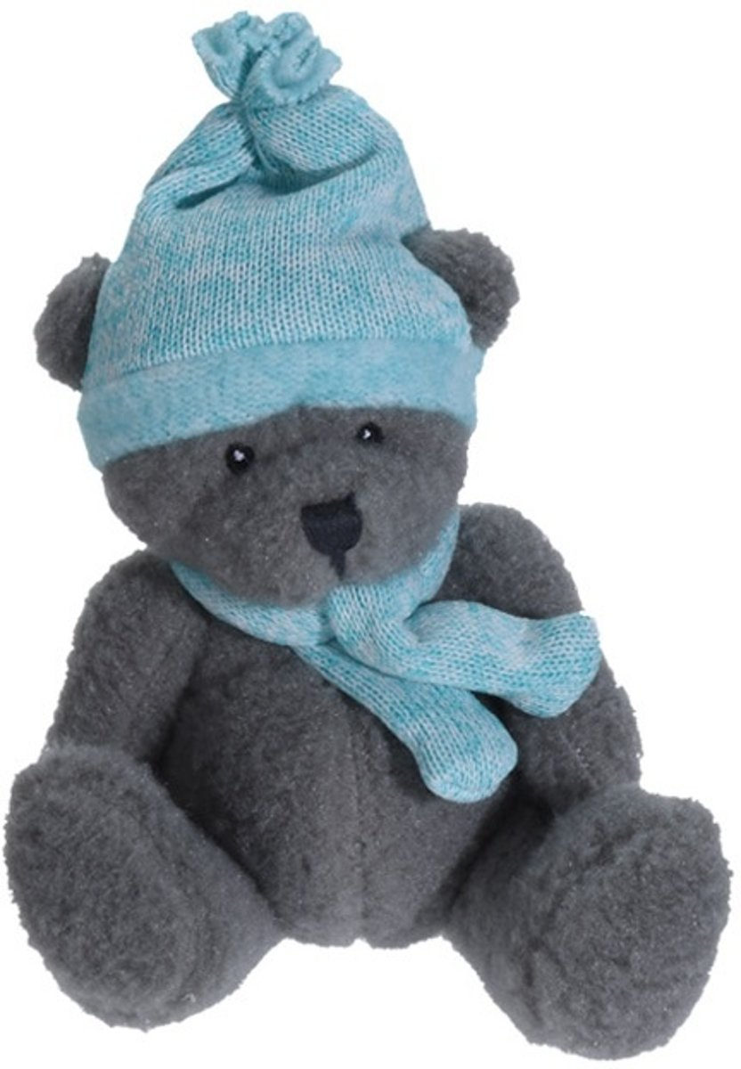 Tender Toys Knuffelbeer Turquoise 23 Cm